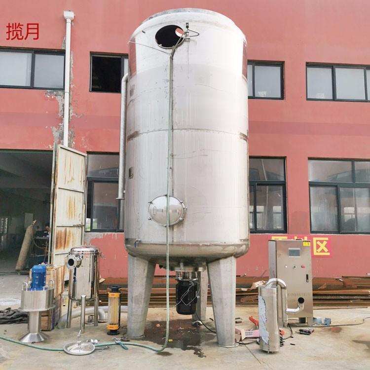 液态发酵罐 自吸式深层发酵设备 新型酿醋设备